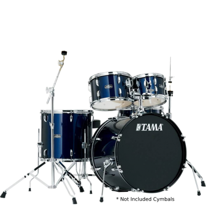 TAMA SG52KH6 Stagestar 5-Piece Drum Kits Cymbals NOT included, Dark Blue