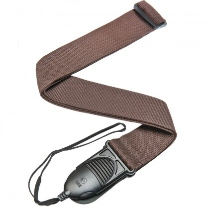 Planet Waves Poly-Pro AQR Guitar Strap, Brown