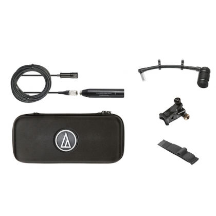 Audio Technica ATM350U Cardioid Condenser Instrument Microphone with Universal Clip-on Mounting System Artist Series