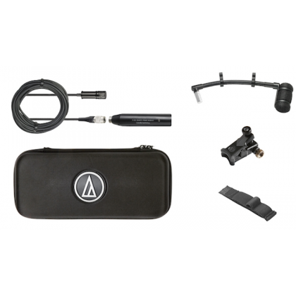 Audio Technica ATM350UL Cardioid Condenser Instrument Microphone with Universal Clip-on Mounting System (Long)