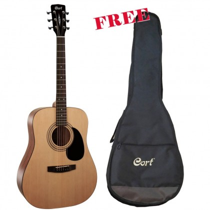 Cort AD810 - Acoustic Guitar with Gig Bag (AD-810 OP  / AD810 OP)