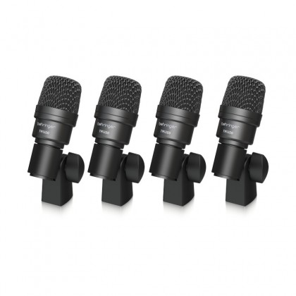 BEHRINGER BC1200 Professional 7-Piece Drum Microphone Set For Studio And Live Applications
