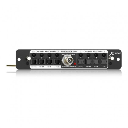 BEHRINGER X-ADAT High-Performance 32-Channel ADAT / Wordclock Expansion Card For X32