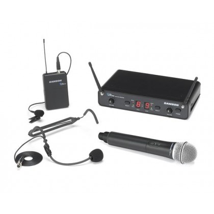 SAMSON CONCERT 288 ALL-IN-ONE DUAL-CHANNEL WIRELESS SYSTEM