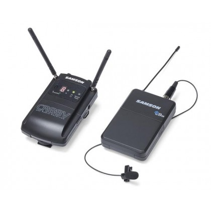SAMSON Concert 88 Camera Lavalier - Frequency-Agile UHF Camera Wireless System